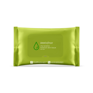 Innisfree City Vacance Moisture Skin Tissue 30pcs (59ml)