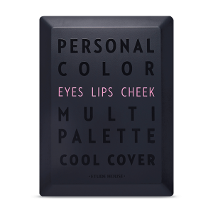 Etude House Personal Color Multi Palette: Cool Cover