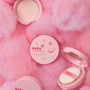 Me Factory Soft Finish Pink Powder Pact 9g