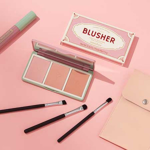 Innisfree [Vintage Filter Edition] Vintage Filter Blusher Palette + Color Cara Set