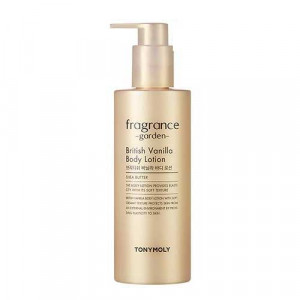 TONYMOLY Fragrance Garden British Vanilla Body Lotion 300g