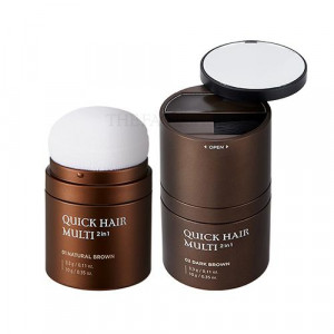 The Face Shop Quick Hair Multi 2 In 1 3.3g/ 10g