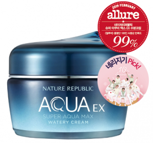Nature Republic Super Aqua Max Ex Watery Cream 80m