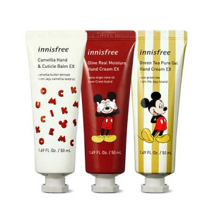 Innisfree [Hello 2020 Mickey Friends] Jeju Heritage Hand Cream Set