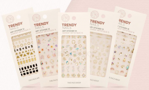The Face Shop Trendy Nails Art Sticker #12,#16,#19 1ea