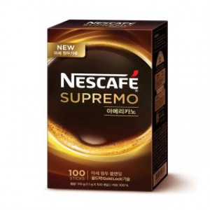 [Coffee Mix] Nescafe Supremo Americano 1.1g x 100T