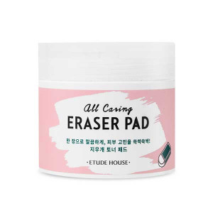 Etude House All Caring Eraser Pad 110ml (60pcs)