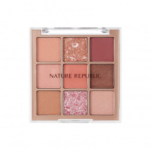 Nature Republic Pro Touch Killing Point Shadow Palette 03 Rosy Canvas 7.7g