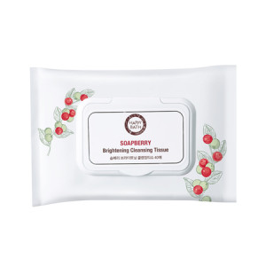 Happy Bath Soapberry Brightening Cleansing Tissue 40 sheets
