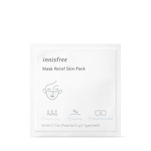 Innisfree Mask Relief Skin Pack