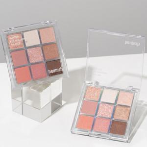 Heimish Glitter Eye Shadow Palette #Coral Berry 8.5g