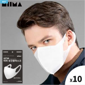 MIIMA  KF94 M Size MASK 10ea