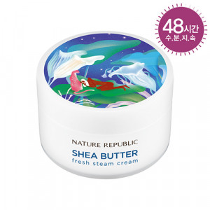 Nature Republic Shea Butter Steam Cream Fresh For Oily&Combination Skin 100ml