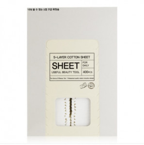 TONYMOLY New 5-Layer Cotton Sheet 400pcs(5*80)
