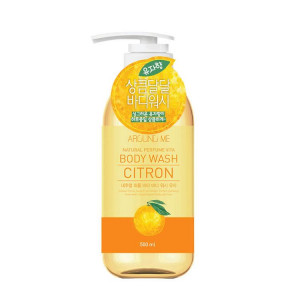 Around Me Natural Perfume Vita Body Wash Citron 500ml