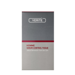 VERITE Homme Sebum Control Tissue 15sheet