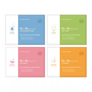 Nature Republic [EXO Edition] Real Comforting Mask Sheet 24g*5ea