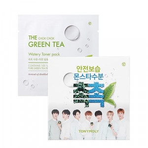 TONYMOLY The Chok-Chok Green Tea Watery Toner Pack 8g*10ea