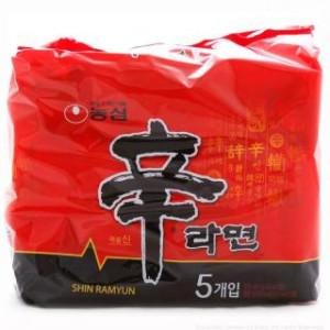 NongShim Shin Noodle 120g*5ea
