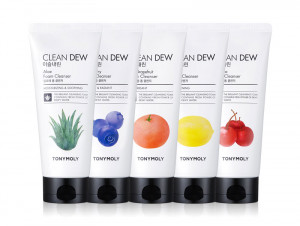 TONYMOLY Clean Dew Foam Cleanser 180ml