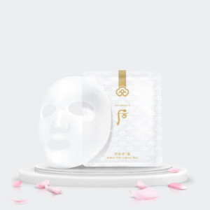 The History Of Whoo Gongjinhyang:Seol Radiant White Ampoule Mask 8pcs