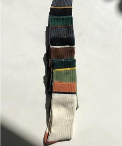 [R] Rowky Color long socks 1pcs