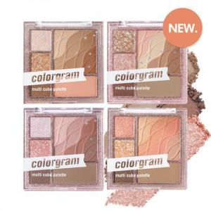 Colorgram [New Color]  Multi Cube Palette #04 Muted Cube 8.6g