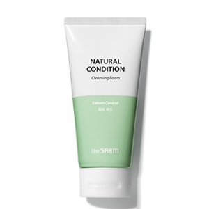 The Saem Natural Condition Cleansing Foam [Sebum Controlling] 150ml