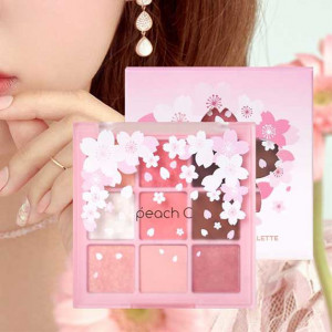 Peach C Eye Shadow Palette Blossom Edition