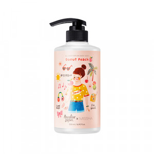 Missha All Over Perfum Body Wash 500ml