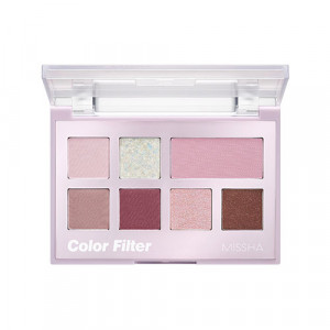 Missha [Limited] Color Filter Shadow Palette #Misty Filter 6.8g