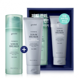 GOODAL Men Sebum Breaker All In One Set (for Oily Skin) 150ml*100ml