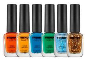 The Face Shop Trendy Nails  7ml
