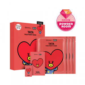 MEDIHEAL x BT21 TATA Face Point Mask 20ml*4ea
