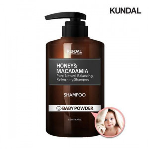 Kundal Honey & Macadamia Pure Natural Balancing Refreshing Shampoo 500ml