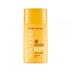 Nature Republic California Aloe Sun Liquid SPF50+ PA++++ 50ml