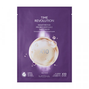 Missha Time Revolution Night Repair Pro Bio Ampoule Mask 40g