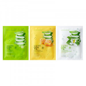 Nature Republic Soothing and Moisture Aloe Vera 92% Soothing Gel Mask Sheet 30g
