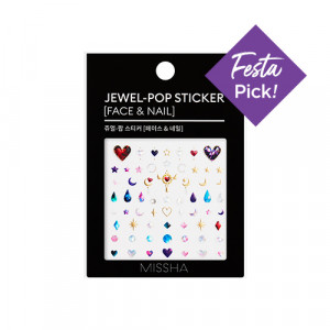 Missha Jewel-Pop Sticker [Face&Nail] 1ea