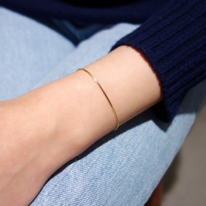 [R] MAROON Silver 925 Rose Gold Pearl Two Way Long Drop Earrings