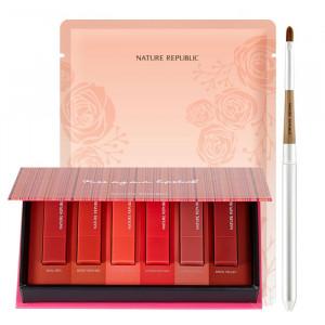 Nature Republic [Thanksgiving Set] Kiss My Mini Lipstick Kit Matt Edition