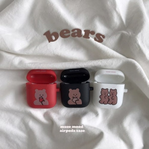 [R] MUSE MOOD Bear Airpods Case