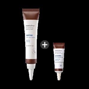 Innisfree Derma Formula Peeling Cream Launching Set (With Skin Barrier Cream) 40ml+10ml