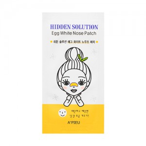 APIEU Hidden Solution Egg White Nose Patch 1ea