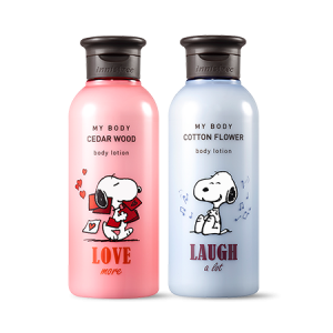 Innisfree My Body Body Lotion [Snoopy LTD] 300ml
