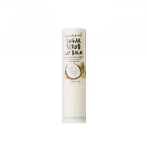 Too Cool For School Coconut Sugar Scrub  Lip Balm 3.4g
