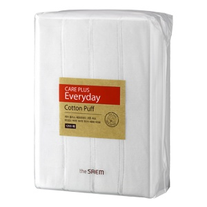 The Saem Care Plus Everyday Cotton Puff 1,200pcs
