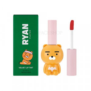 The Face Shop X Kakao Friends Club Ryan Velvet Lip Tint 5g
