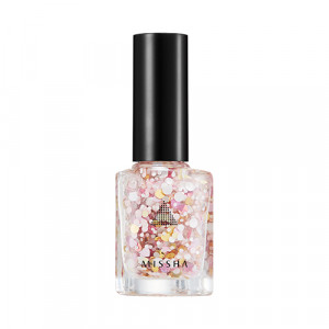 Missha Self Nail Salon Glitter Look [G026 Sweet Moments] 8ml
