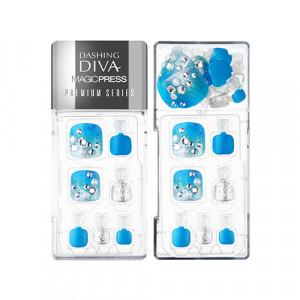 Missha x Dashing Diva Magic Press Pedicure Premium [Blue Lagoon] 1set